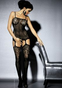 1 Bodystocking F204 black PROMO